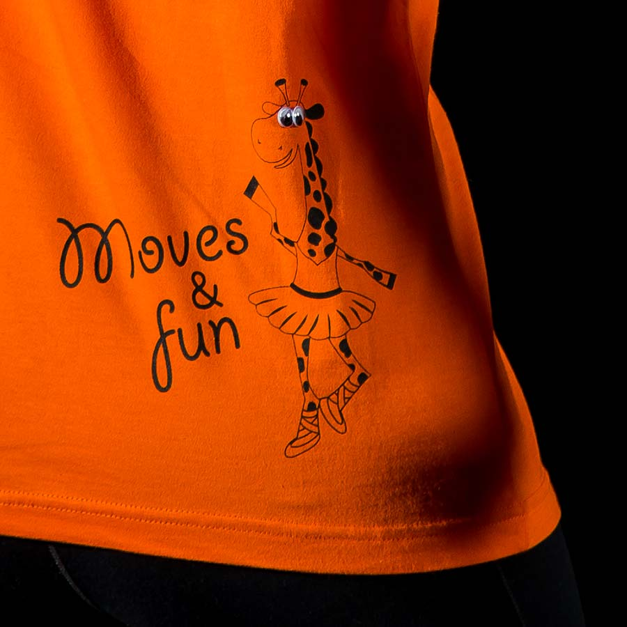 Moves & fun t-shirt